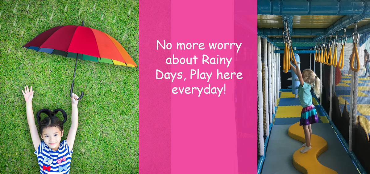 No more worry about Rainy Days, Play here everyday!